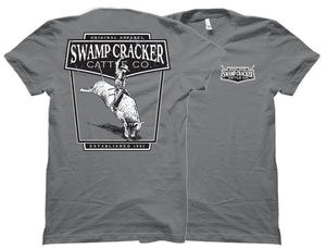 Bull Rider Swamp Cracker Cattle Company Shirt