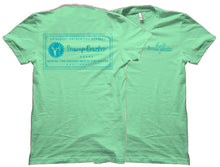 Logo Label Turquoise Swamp Cracker T-Shirt