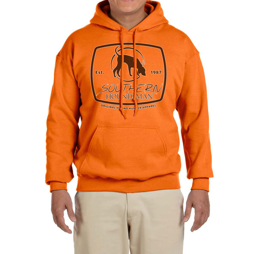 Southern Houndsman Safety Orange Pullover Hoodie