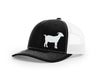 Swamp Cracker Goat Snapback Hat
