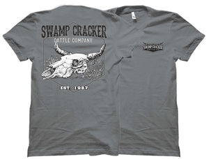 Field Skull Swamp Cracker Cattle Company Shirt