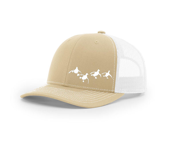 Landing Flock of Ducks Swamp Cracker Trucker Snapback Hat