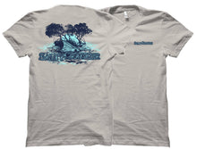 Tailing Redfish Salty Cracker Saltwater Fishing Shirt