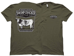 Youth Cracker Cow Swamp Cracker Cattle Company Shirt