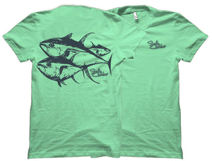 Schooling Tuna Salty Cracker Shirt