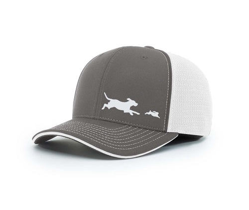 Beagle Chasing Rabbit Southern Houndsman Flex Fit Hat