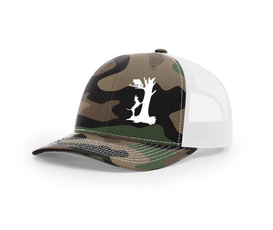 Treed coon Southern Houndsman Snapback Hat
