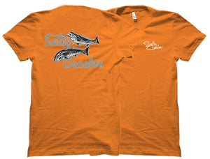 Schooling Redfish Salty CrackerShirt
