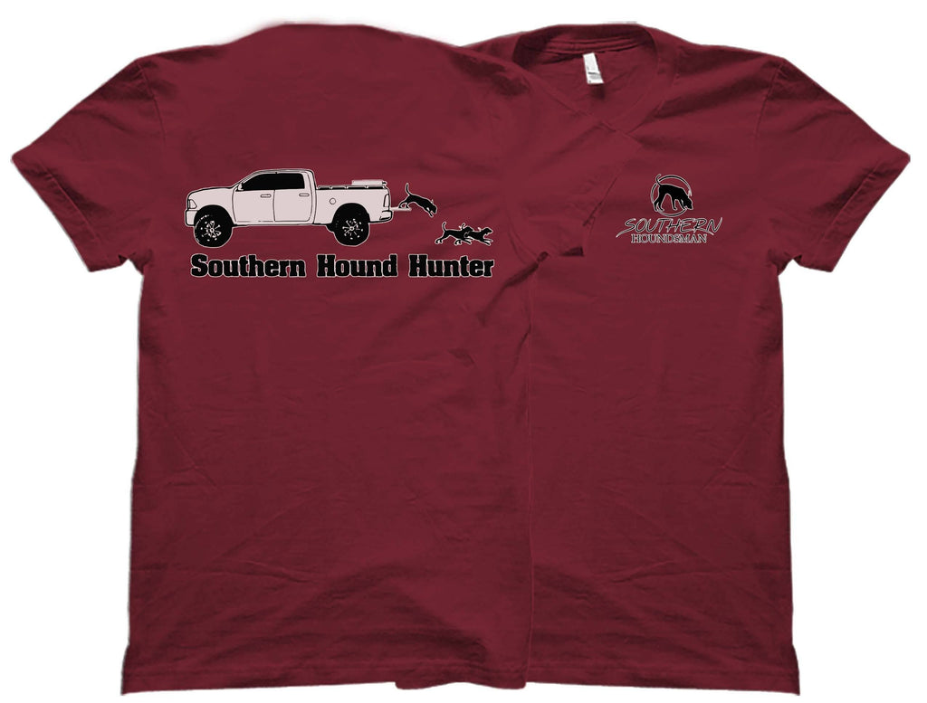 Dropping Tailgates on a D Truck Southern Houndsman T-Shirt