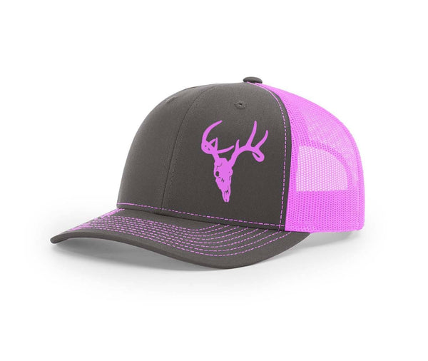 Deer Skull Swamp Cracker Snapback Hat