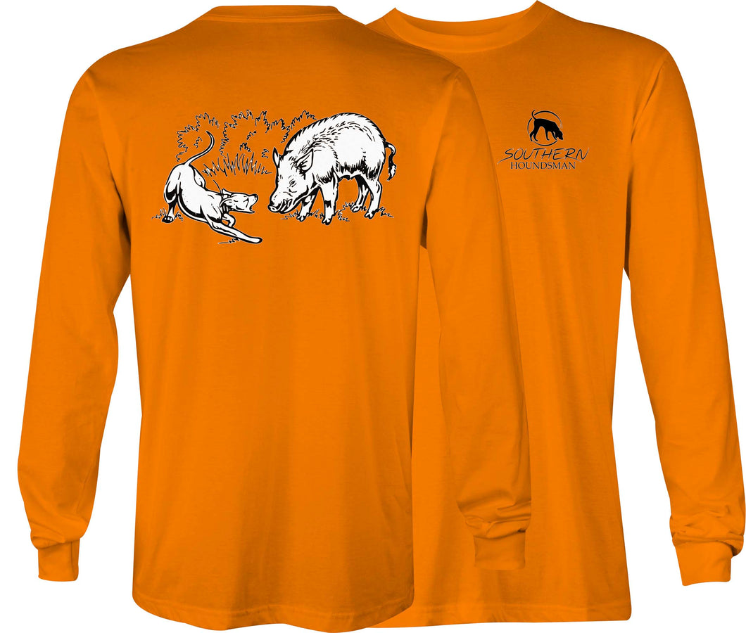 Southern Houndsman Lone Dog Hog Long Sleeve Shirt