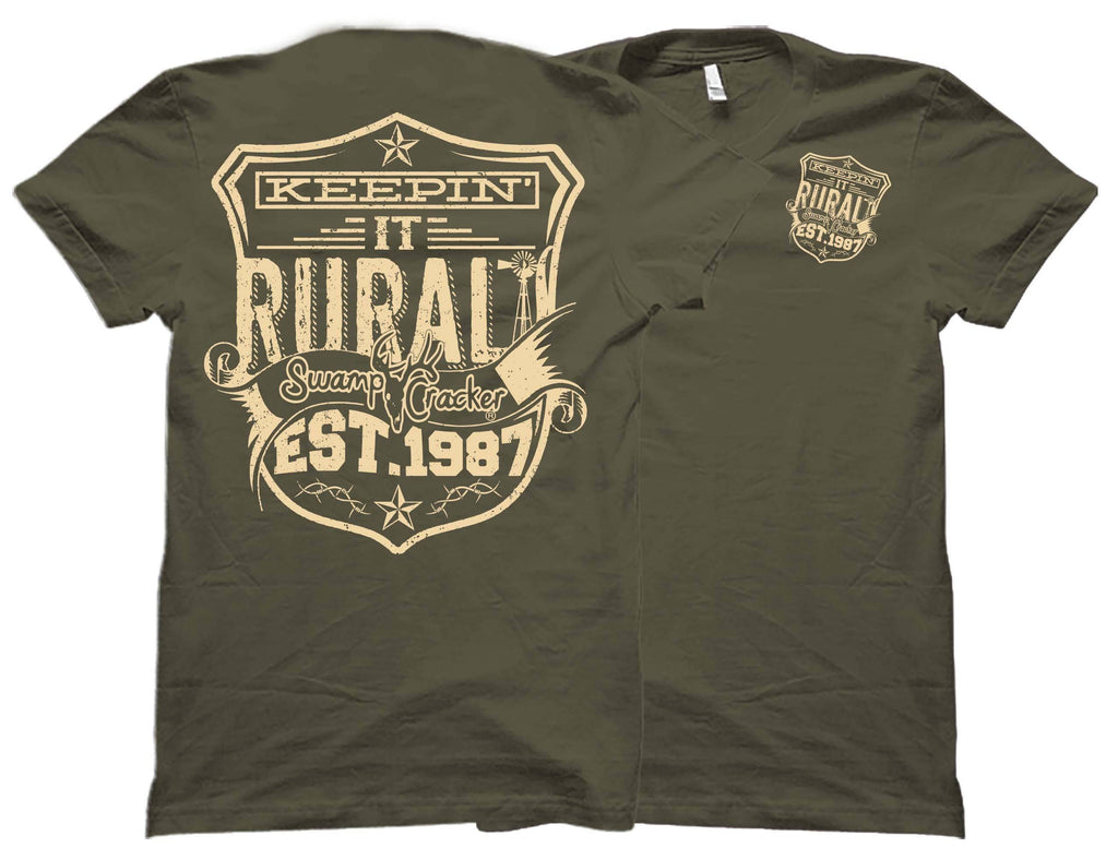 Keepin' It Rural Swamp Cracker Shirt