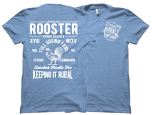 White Rural Rooster Swamp Cracker Shirt