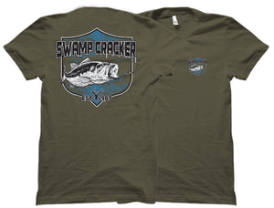 Youth Largemouth Bass Swamp Cracker Shirt