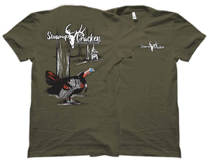 Strutting Turkey Swamp Cracker T-Shirt