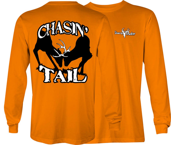 Swamp Cracker 2 Bucks Fighting Long Sleeve Shirt