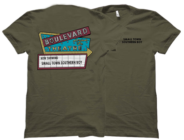 Small Town Southern Boy Drive In T-Shirt