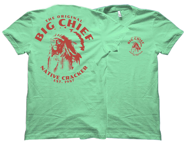 Native Cracker Big Red Chief Swamp Cracker Shirt