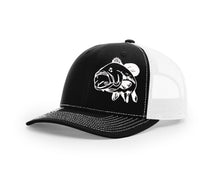 Bass Swamp Cracker Trucker Snapback Hat