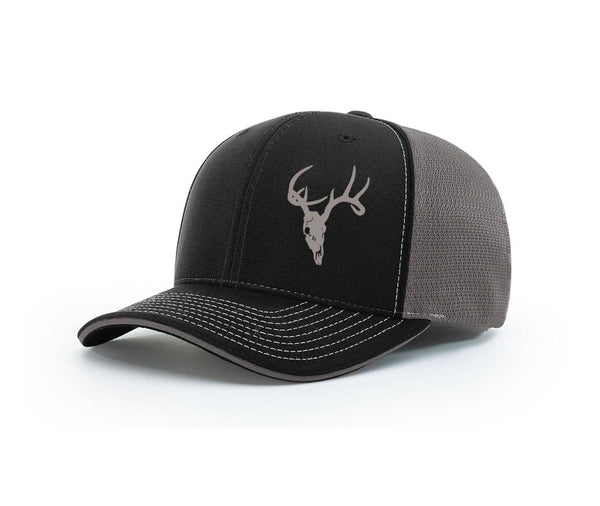 Deer Skull Swamp Cracker Flex Fit Hat