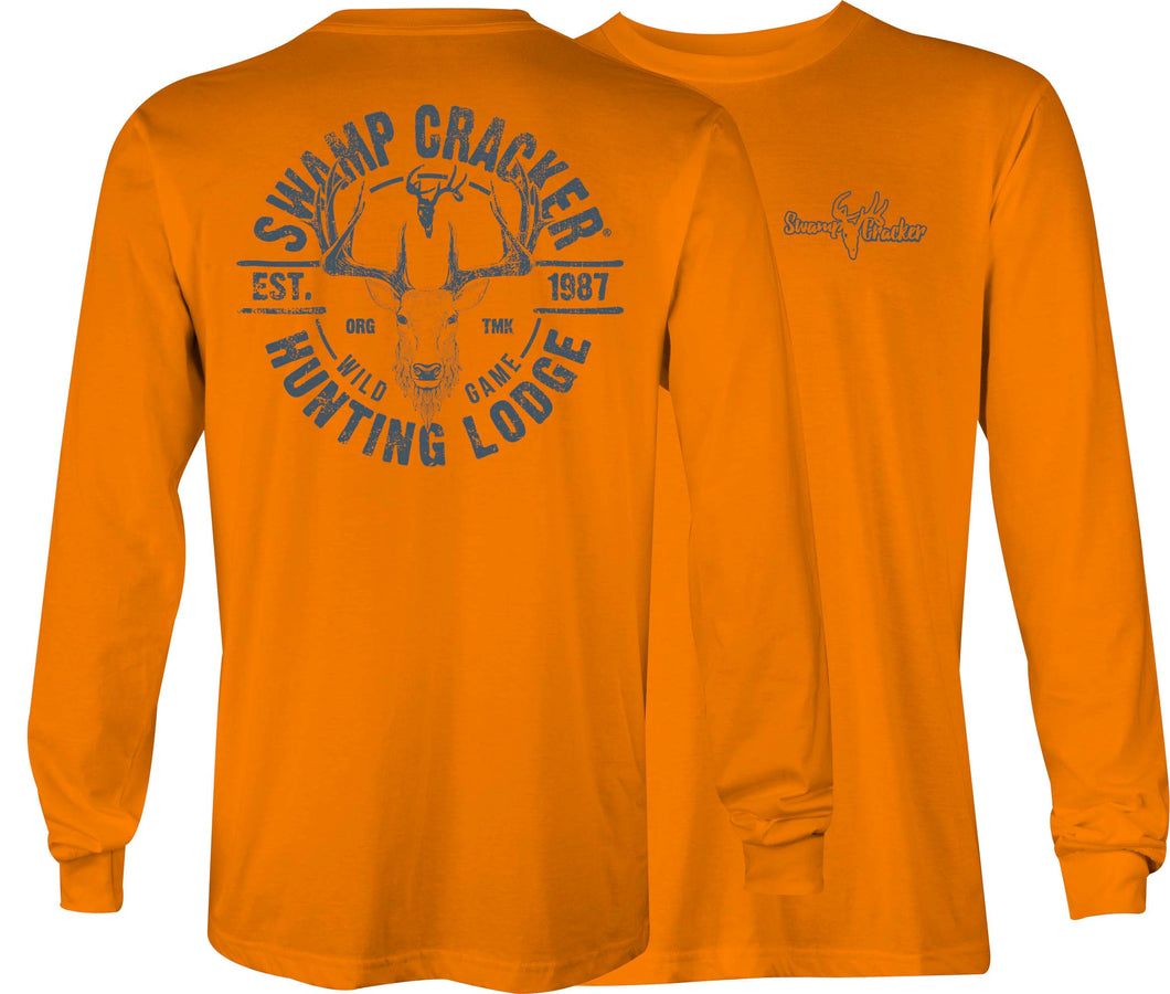 Swamp Cracker Hunting Lodge Long Sleeve Shirt