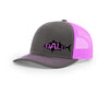 Image of Tuna Outline Salty Cracker Snapback Hat