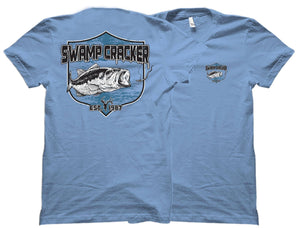Largemouth Bass Swamp Cracker Shirt