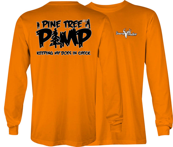 Swamp Cracker Pine Tree Pimp Long Sleeve Shirt