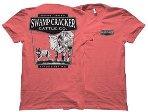 Cattle Dog Swamp Cracker Cattle Company Shirt