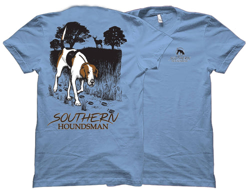 Trailing Buck Walker Southern Houndsman T-Shirt