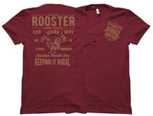Copper Rural Rooster Swamp Cracker Shirt