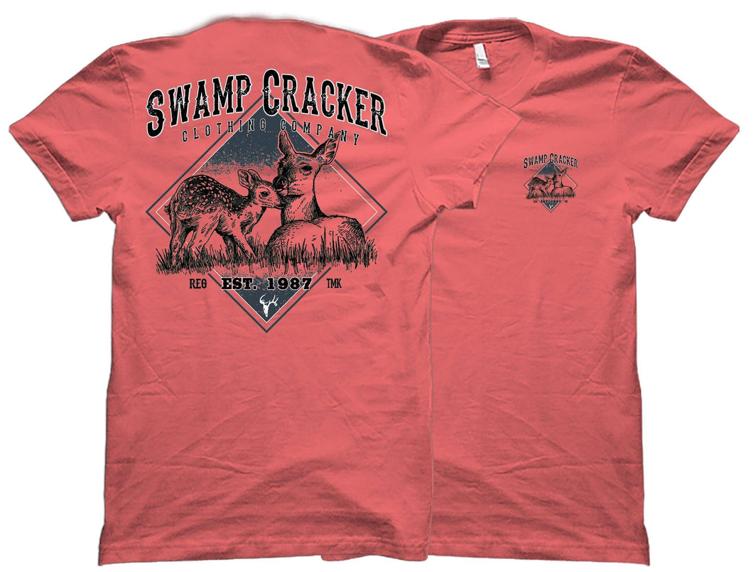 Doe and Fawn Swamp Cracker Shirt