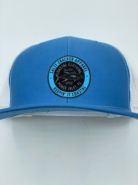 Salty Cracker Retro Tuna Patch Hat