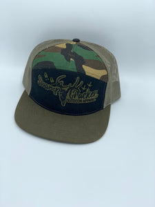 Swap Cracker Camo insert flat Bill SnapBack