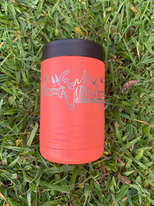 Coral Swamp Cracker Stainless Steel insulated Koozie