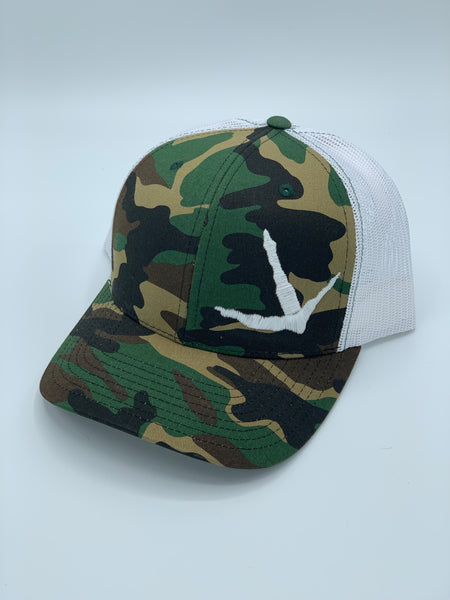 Single Turkey Track Swamp Cracker Snapback Hat