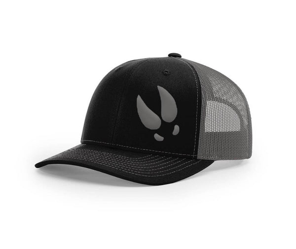 Swamp Cracker single deer track flex fit hat