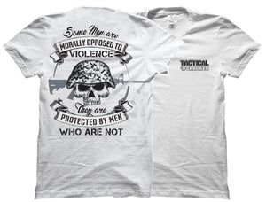 Opposed to Violence Tactical Cracker Shirt