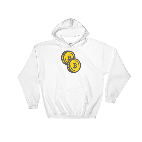Bitcoin - Double Coin Hoodie