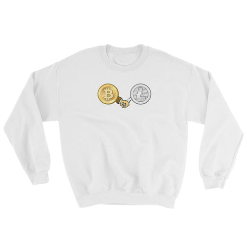 Bitcoin & Litecoin - Partnership Sweatshirt