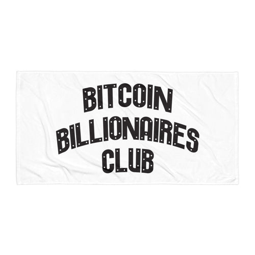 Bitcoin Billionaires Club - Towel