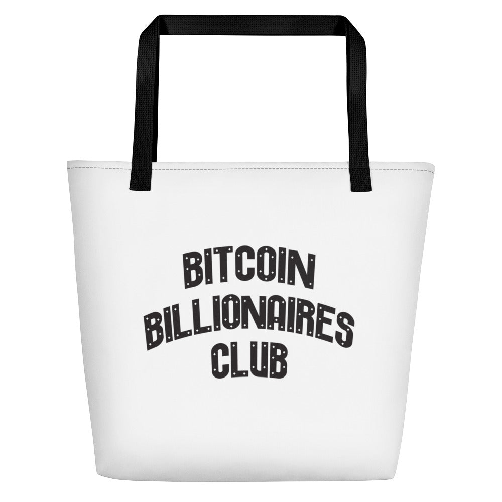 Bitcoin Billionaires Club -Tote Bag