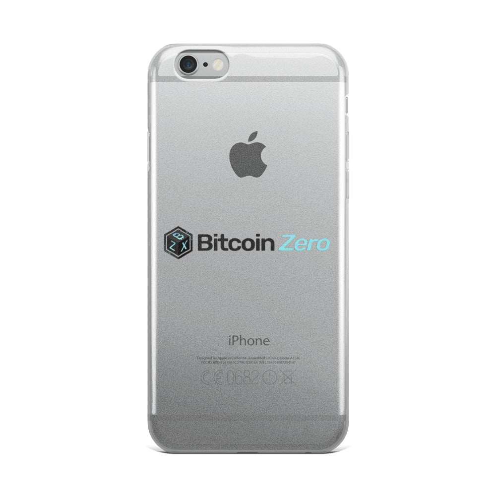 Bitcoin Zero iPhone Case