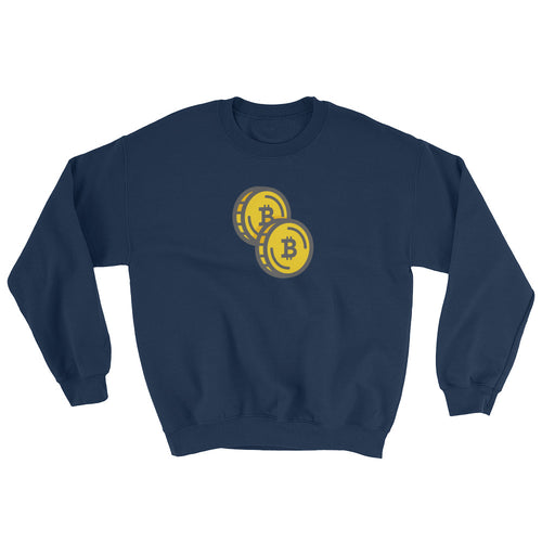 Bitcoin - Double Coin Sweatshirt