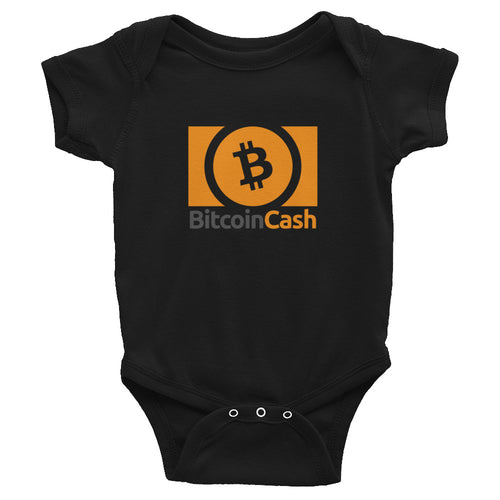 Bitcoin Cash Baby Bodysuit