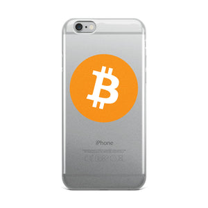 Bitcoin Logo - iPhone Case