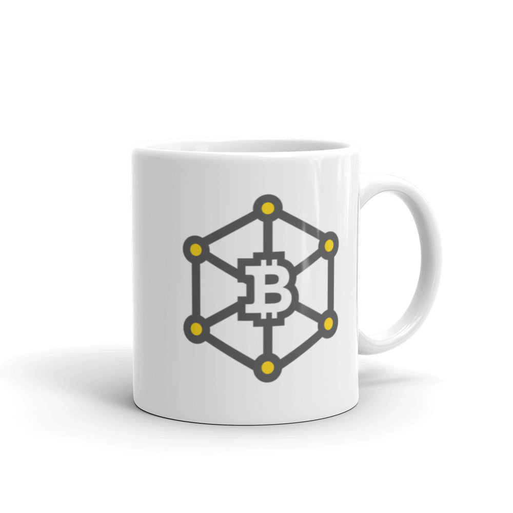 Bitcoin Chain Coffee Mug