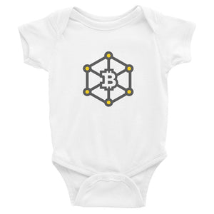 Bitcoin Chain Baby Bodysuit