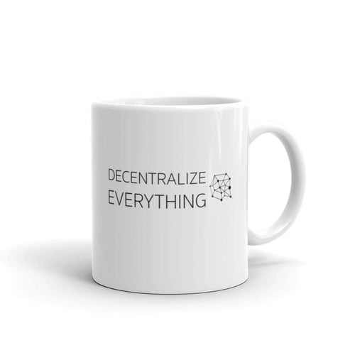 Decentralize Everything Coffee Mug