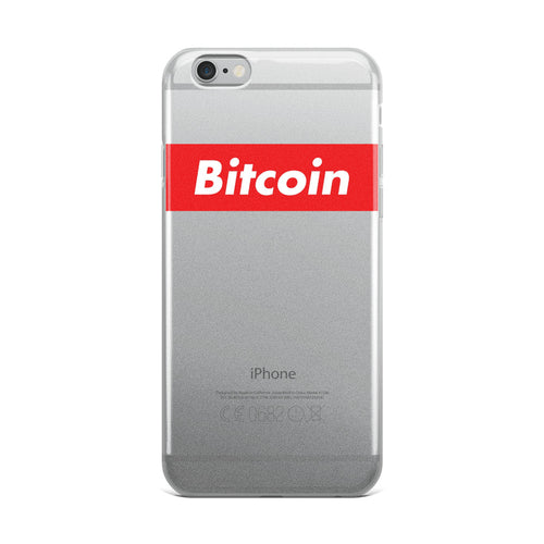 Bitcoin iPhone Case